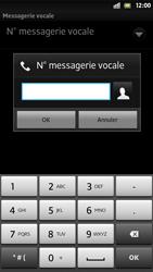 Sony LT26i Xperia S - Messagerie vocale - configuration manuelle - Étape 8