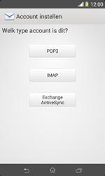 Sony Xperia E1 (D2005) - E-mail - Handmatig instellen - Stap 8