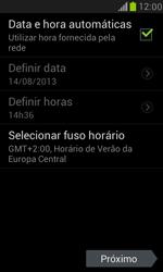 Samsung I8190 Galaxy S III Mini - Primeiros passos - Como ativar seu aparelho - Etapa 8