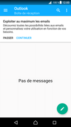 Sony E5823 Xperia Z5 Compact - Android Nougat - E-mail - Configuration manuelle (outlook) - Étape 5