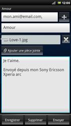 Sony Ericsson Xperia Arc S - E-mail - envoyer un e-mail - Étape 12