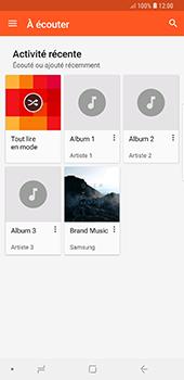 Samsung Galaxy Note 9 - Photos, vidéos, musique - Ecouter de la musique - Étape 6
