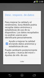Sony Xperia Z1 - Primeros pasos - Activar el equipo - Paso 11