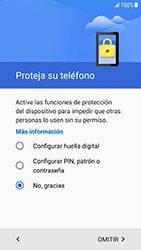 Samsung Galaxy S6 - Android Nougat - Primeros pasos - Activar el equipo - Paso 10