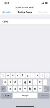 Apple iPhone XR - Wi-Fi - Como configurar uma rede wi fi - Etapa 6