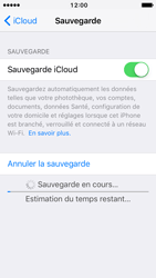 Apple iPhone 5 iOS 10 - Device maintenance - Back up - Étape 14