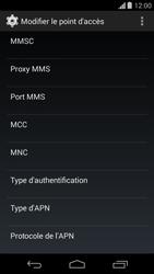 Motorola Moto G - MMS - Configuration manuelle - Étape 12