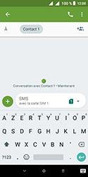 Alcatel 1 - Contact, Appels, SMS/MMS - Envoyer un SMS - Étape 9