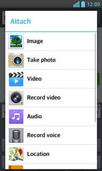 LG E460 Optimus L5 II - Mms - Sending a picture message - Step 12
