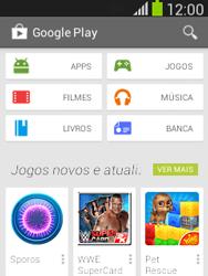 Samsung S5310B Galaxy Pocket Neo - Aplicativos - Como baixar aplicativos - Etapa 4