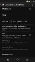 Sony Xperia Z - Mensajería - Configurar el equipo para mensajes multimedia - Paso 5