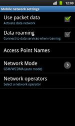 Samsung I9001 Galaxy S Plus - Network - Usage across the border - Step 6