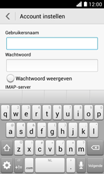 Huawei Ascend Y330 - E-mail - Account instellen (IMAP zonder SMTP-verificatie) - Stap 9
