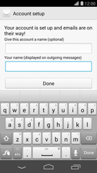 Huawei Ascend P7 - Email - Manual configuration - Step 20