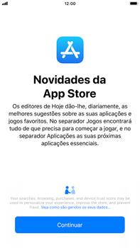 Apple iPhone 8 Plus - iOS 12 - Aplicações - Como pesquisar e instalar aplicações -  3