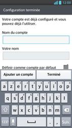 LG D505 Optimus F6 - E-mail - Configuration manuelle - Étape 15
