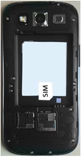 Samsung I9300 Galaxy S III - Primeros pasos - Quitar y colocar la batería - Paso 3