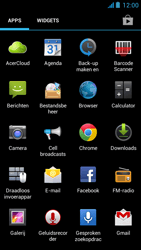 Acer Liquid E2 - E-mail - Hoe te versturen - Stap 3