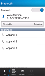 BlackBerry Z10 - Bluetooth - connexion Bluetooth - Étape 9
