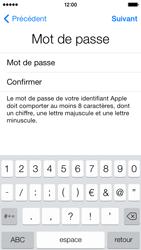 Apple iPhone 5s - Premiers pas - Créer un compte - Étape 17