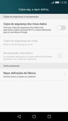 Huawei P8 Lite - Repor definições - Como repor definições de fábrica do telemóvel -  5