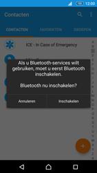 Sony E5603 Xperia M5 - Contactgegevens overzetten - delen via Bluetooth - Stap 9