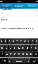 BlackBerry Z10 - E-mail - Envoi d