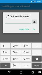 Sony Xperia Z3+ (E6553) - Voicemail - Handmatig instellen - Stap 8