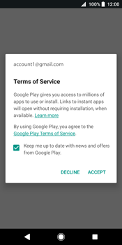 Sony Xperia XZ2 - Applications - Create an account - Step 18