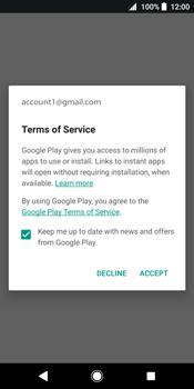 Sony Xperia XZ2 - Applications - Create an account - Step 18