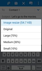 Samsung G318H Galaxy Trend 2 Lite - E-mail - Sending emails - Step 17