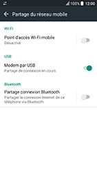 HTC U Play - Internet et connexion - Utiliser le mode modem par USB - Étape 9
