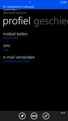 Nokia Lumia 1320 - Contactgegevens overzetten - delen via Bluetooth - Stap 11
