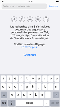 Apple iPhone 8 Plus - iOS 13 - Internet - navigation sur Internet - Étape 3