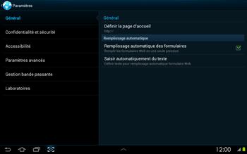 Samsung P5100 Galaxy Tab 2 10-1 - Internet - configuration manuelle - Étape 21