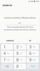 Samsung Galaxy S6 Edge - Android Nougat - Segurança - Como ativar o código de bloqueio do ecrã -  10