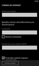 Nokia Lumia 520 - E-mail - Configurar correo electrónico - Paso 12