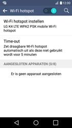 LG K4 - WiFi - Mobiele hotspot instellen - Stap 11