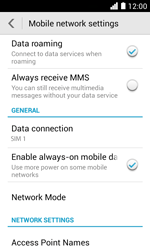 Huawei Ascend Y330 - Internet - Usage across the border - Step 5