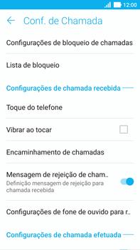 Asus Zenfone 3 - Chamadas - Como bloquear chamadas de um número específico - Etapa 8