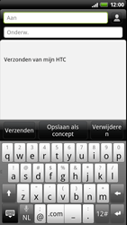 HTC Z715e Sensation XE - E-mail - hoe te versturen - Stap 5