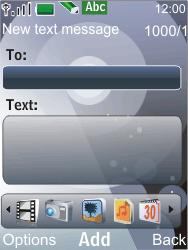Nokia 7210 supernova - MMS - Sending pictures - Step 5