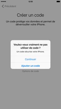 Apple iPhone 6s Plus - Premiers pas - Créer un compte - Étape 14