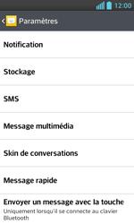LG E460 Optimus L5 II - SMS - Configuration manuelle - Étape 6