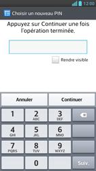 LG Optimus F5 - Sécuriser votre mobile - Activer le code de verrouillage - Étape 8