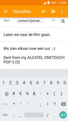 Alcatel OneTouch POP 3 (5) 3G (OT-5015X) - E-mail - Hoe te versturen - Stap 10