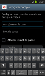 Samsung S7390 Galaxy Trend Lite - E-mail - Configuration manuelle - Étape 5