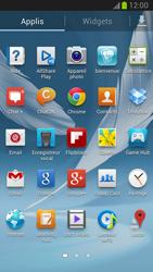 Samsung Galaxy Note 2 - Photos, vidéos, musique - Créer une vidéo - Étape 3