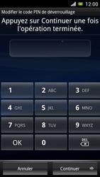 Sony Ericsson Xpéria Arc - Sécuriser votre mobile - Activer le code de verrouillage - Étape 8