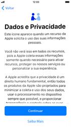 Apple iPhone 6 - iOS 12 - Primeiros passos - Como ativar seu aparelho - Etapa 9